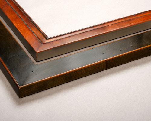 antique-olive-english-wax-frames
