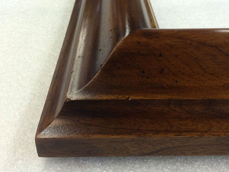 hardwood custom picture frames