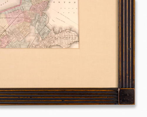 traditional hardwood custom picture framing