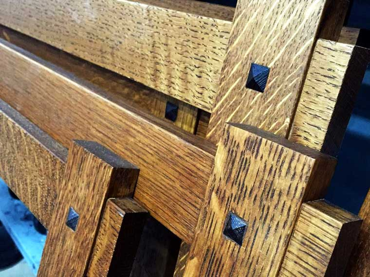 arts-and-crafts-oak-mortise-tenon-picture-frames
