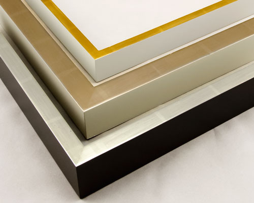 gold-leaf-contemporary-custom-picture-frames