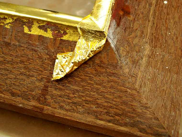 water-gilding-custom-framing-process