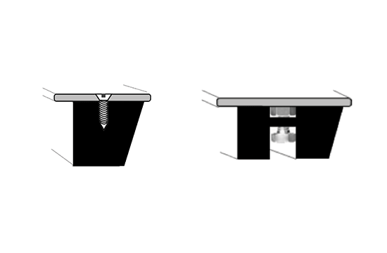 Flat iron welded steel diagram