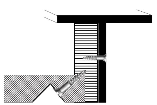 t-shaped welded steel frame diagram