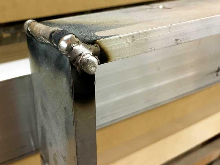 welded aluminum picture frames