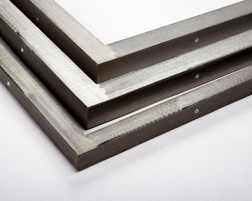 angle steel custom welded steel picture frames