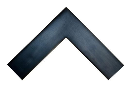 Carbon black welded steel picture frame