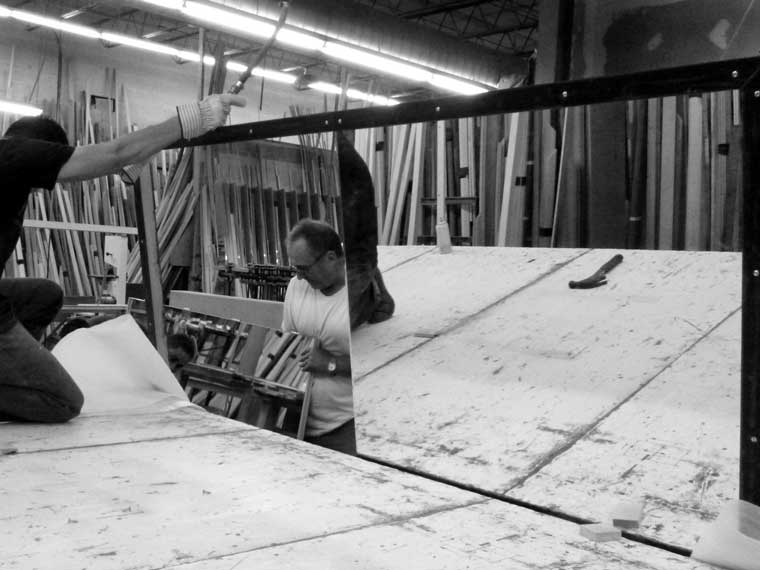 welded steel picture frame manufacturing