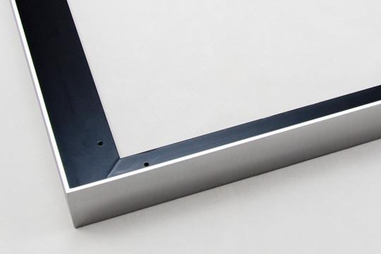 canvas float welded aluminum picture frames