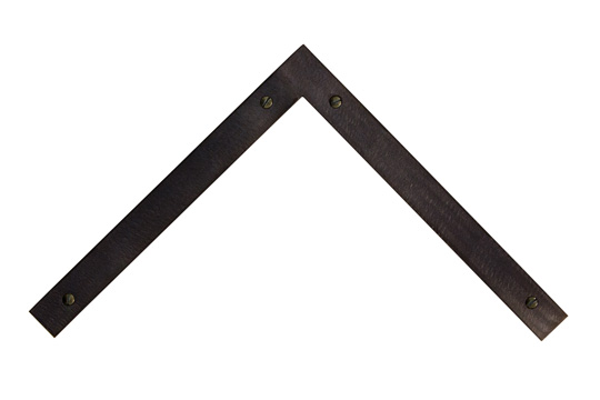 ground slate oval screws welded steel picture frame