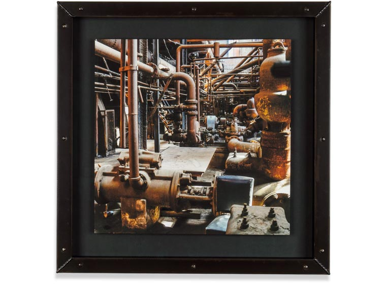 machine shop for custom welded steel picture frames