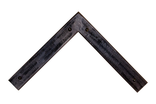 pitted slate oval screws welded steel picture frame