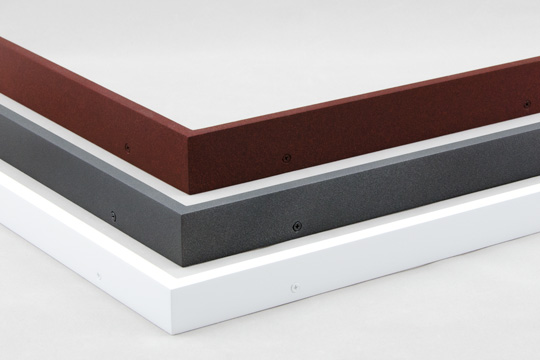 powder coated welded aluminum picture frames