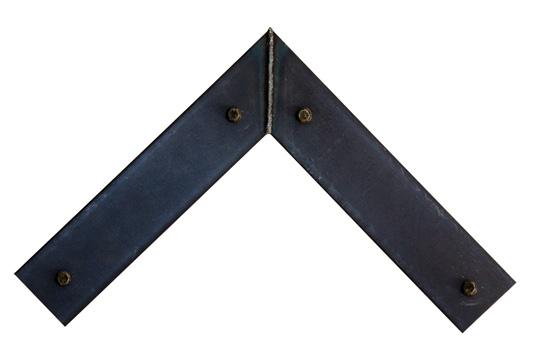 f-blot welded steel picture frame
