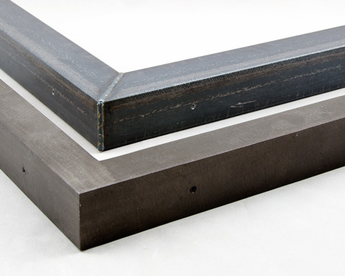 angle raw steel custom welded steel picture frames