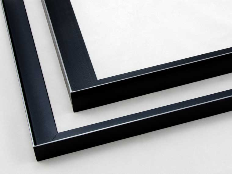 floating canvas welded steel picture frame