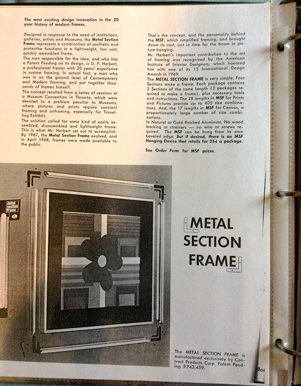 metal-section-frame-advertisement