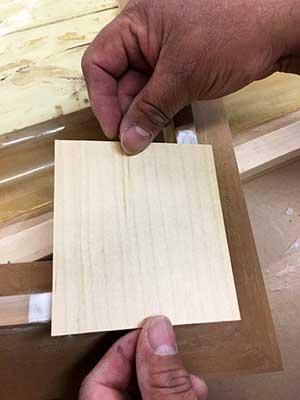 maple-veneer-over-cherry-hardwood-frame-corner