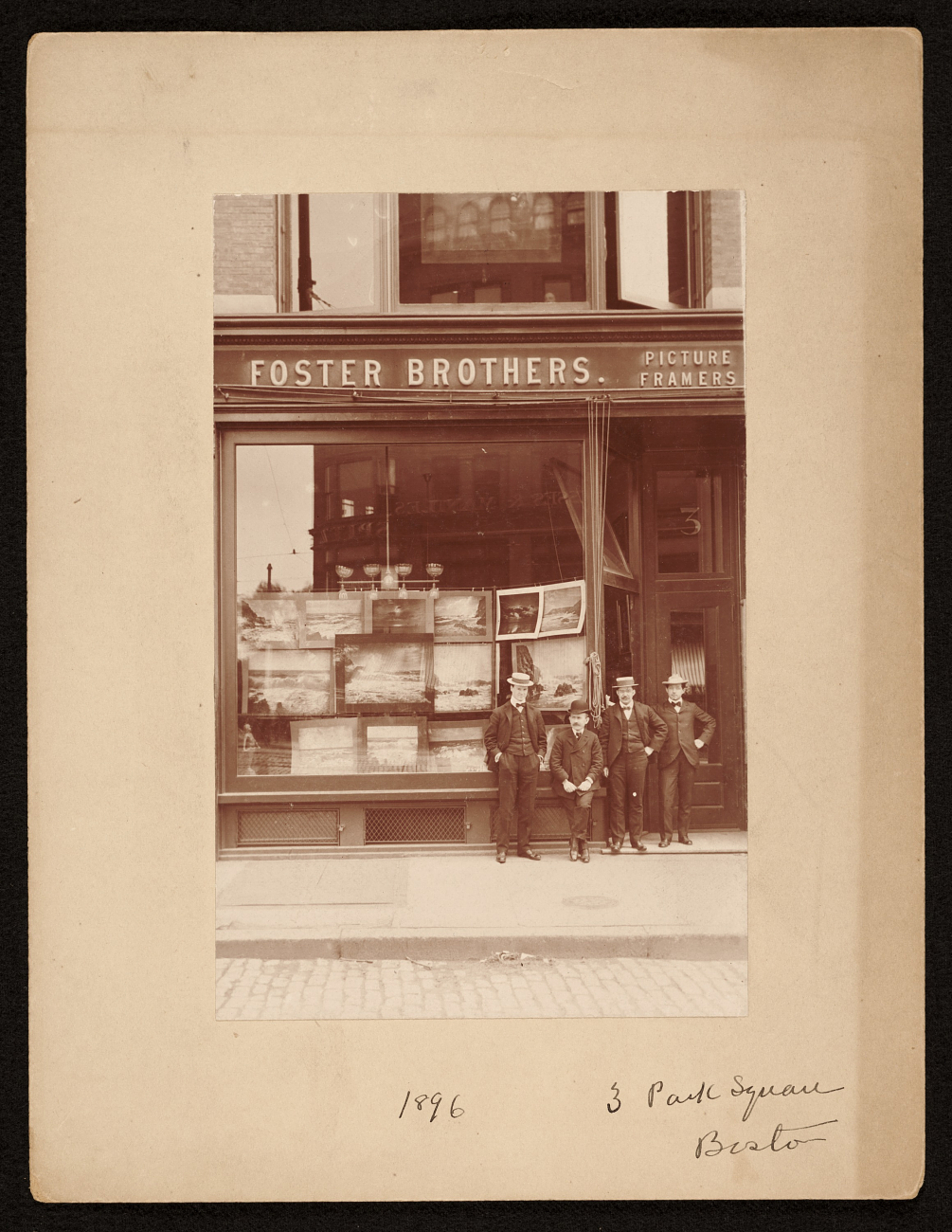 Foster-Brothers-Picture-Frames-Storefront
