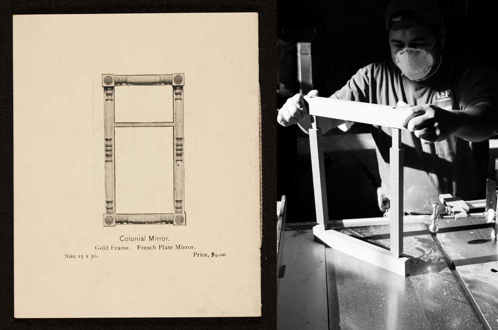 Frame making history of Foster Brothers Picture Frames | A Street Frames